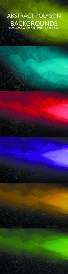 Abstract Polygon Backgrounds - Abstract #Backgrounds Download here: https://graphicriver.net/item/abstract-polygon-backgrounds/19454387?ref=alena994