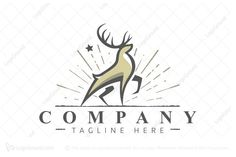 Logo for sale: Proud Deer Logo