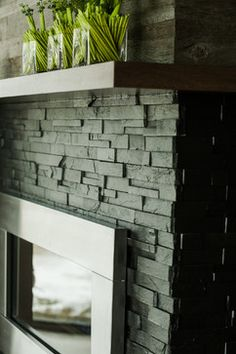 Designer Fireplaces - traditional - living room - toronto - ErthCOVERINGS