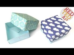 Easy Origami: How to make a paper box! I have been ask by a number of you for a how to make an origami paper box tutorial and I thought it was about time I s. Paper Crafts Origami, Origami Box, Diy Paper, Paper Crafting, Easy Origami For Kids, Origami Easy, Paper Box Tutorial, Cardboard Suitcase, Origami Techniques