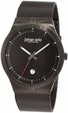 Johan Eric Men's JE3004-13-007B Skive Black IP Mesh Stainless Steel Date Watch Johan Eric. $89.55. Save 55% Off!