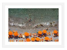 One Kings Lane Judith Gigliotti - Bright Orange Art California College Of Arts, Orange Art, Modern Photography, Black And White Portraits, Vintage Walls, Fine Art Paper, Amazing Art, Photo Art, Art Decor