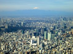 Tokyo - Mt. Fuji seen from the Sky Tree