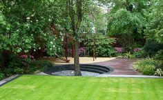 Lovely And Attractive Garden Design Ideas Sweet Garden Design With Few Trees – Home Interior Design Small Courtyard Gardens, Courtyard Design, Small Gardens, Outdoor Gardens, Garden Design Pictures, Modern Garden Design, Garden Landscape Design, Auckland, Layout Design