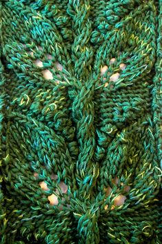 Lily of the Valley Cable Stitch Pattern