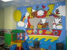 Noah's Ark theme...more pictures and ideas for items