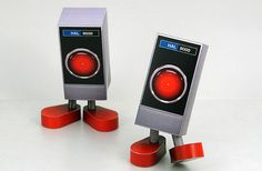 Papercraft HAL 9000