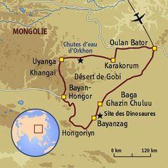 Le bonheur est dans la steppe #mongolie #trekking #sport #aventure