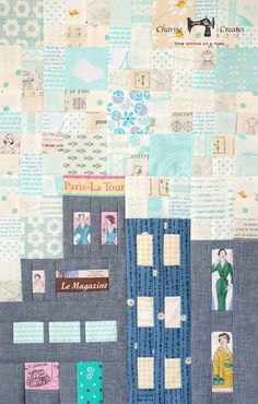 Charise Creates: My Small World Quilt Along