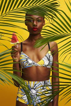 Entre o boho e o tropical: marcas com o estilo brasileiro Chictopia Lifestyle -It's Summer Time! Photo by Patrick Wong(KitmeImage) Art direction by Model: Badu (Elite) Photographie Portrait Inspiration, Fashion Photography Inspiration, Editorial Photography, Portrait Photography, Photography Tricks, Creative Photography, Digital Photography, Ideas Para Photoshoot, Style Photoshoot