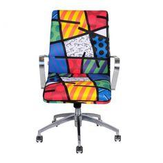 Cadeira de Escritório Romero Britto