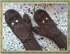 Eulen-Handschuhe Nr. 2