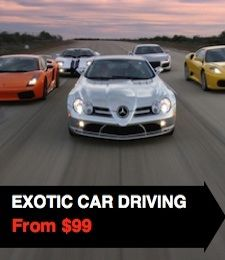 Exotic Car experience days and other adrenaline rushes!
