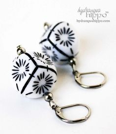 Check out how to make these earrings and a matching necklace with elements from Stainless Steel Elegance, available at @Prima Bead http://hydrangeahippo.com/stainless-steel-elegance-is-not-an-oxymoron/