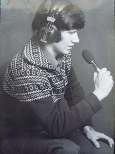 Tony Monahan Singer on recording.