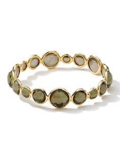 Ippolita 18k Rock Candy Pyrite Doublet Bangle Bracelet at London Jewelers!