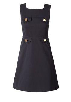 Love this pinafore dress