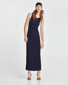 LONG TWO-TONE DRESS-View all-DRESSES-WOMAN | ZARA United Kingdom