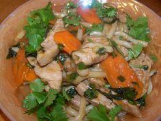 Spicy pork with Thai basil recipe