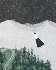 (c) Akira Kusaka Akira, Music Notes Art, Woodlands Cottage, Fairytale Art, Stunning Photography, Children's Book Illustration, Pattern Art, Art Patterns, Pictures To Draw