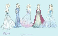 Elsa designer possible halloween costume for this year.