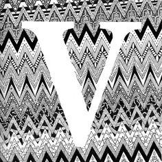 Zentangle met het thema Vibrations