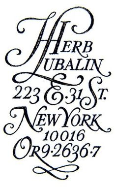 I adore Herb.I could not get enough of his work when I was in art school!*
