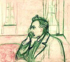 Edvard Munch Friedrich Nietzsche, c.1906