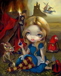 'Alice and the Bosch Monsters' - Jasmine Beckett-Griffith