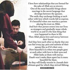 Mashaallah ❤❤❤  #HalaalLove #JannahIsOurGoal #BlessedNikkah  #Inshaallah Muslim Couple Quotes, Muslim Love Quotes, Love In Islam, Beautiful Islamic Quotes, Islamic Inspirational Quotes, Romantic Love Quotes, Muslim Couples, Muslim Brides, Muslim Girls