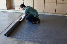 Diamond Nitro Rolls - Premium Grade Vinyl Garage Floor Rolls