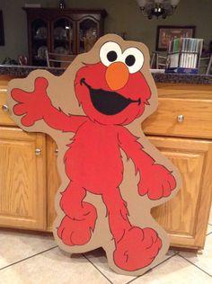 Elmo cutout
