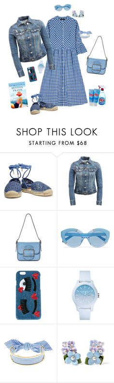 """""""Untitled #123"""" by mariabellostyling ❤ liked on Polyvore featuring MICHAEL Michael Kors, Aéropostale, Tory Burch, Karen Walker, Chiara Ferragni, Lacoste, Monica Sordo, Dolce&Gabbana and Moschino"""