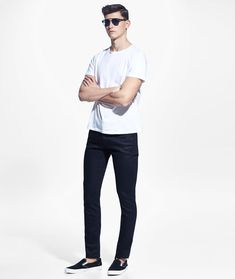 Men's White T-Shirt Outfit