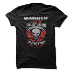 Awesome Barber T-Shirts, Hoodies. SHOPPING NOW ==► https://www.sunfrog.com/Names/Awesome-Barber-Shirt-xx8p.html?id=41382