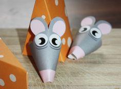 Deko und Accessoires für Weihnachten: Mäuse zum Verbraten I Geldgeschenk made by GrafikBoutique via DaWanda.com