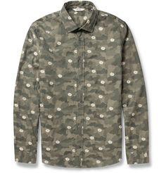 NN.07Lindh Patterned Cotton Shirt