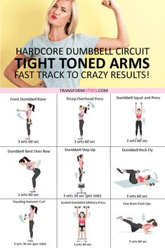🏋️♀️Tone and Tighten Your Arms! Dumbbell Progressive Circuit to Get CRAZY Results..