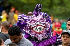 Carnival in the Dominican Republic was an epic experience. So many colors and varieties of masks it made for great pictures. Did a full photo essay on it =)