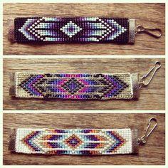 Color Palette for Jewelry and Friendship Bracelets Inspiration #SamePatternDifferentColors #SPDC