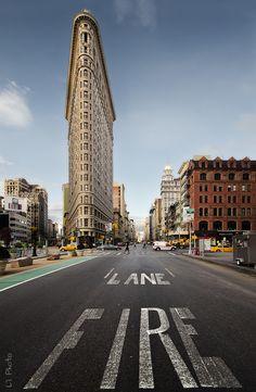 Flatiron building. New York City