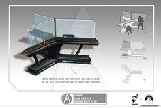 Star Trek Game Concept Art by Fernando Acosta