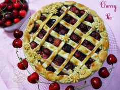 ©Oggi vi cucino così!: #Balsamic #Cherry #Pie per Re-cake 9