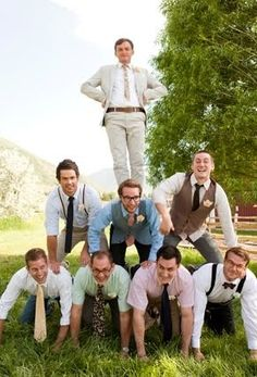 Groomsmen with personality!