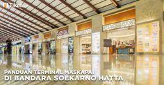 Panduan Terupdate Terminal Bandara Soekarno Hatta  Bandar udara yang diambil dari nama presiden dan wakil presiden pertama Republik Indonesia Soekarno-Hatta mulai beroperasi pada tahun 1985 menggantikan Bandar Udara Kemayoran (penerbangan domestik) dan Halim Perdana Kusuma yang saat ini masih beroperasi. Bandara ini memiliki luas 18 km persegi dengan dua landasan paralel yang dipisahkan oleh dua taxiaway sepanjang 24km.  Seperti yang kita ketahui karena semakin padatnya jadwal penerbangan di…