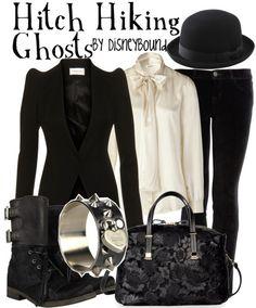 Hitch Hiking Ghosts // The Haunted Mansion // Disney World Disney Bound Outfits, Disney Inspired Outfits, Themed Outfits, Disney Style, Edna Mode, Moda Disney, Alternative Rock, Alternative Fashion, Estilo Disney