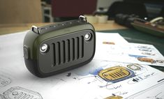The Jeep Inspired Outdoor Waterproof Bluetooth Speaker Jeep Gear, Jeep Cj, Jeep Truck, Jeep Willys, Camping Jeep, Motorcycle Camping, Jeep Renegade, Waterproof Bluetooth Speaker, Bluetooth Speakers