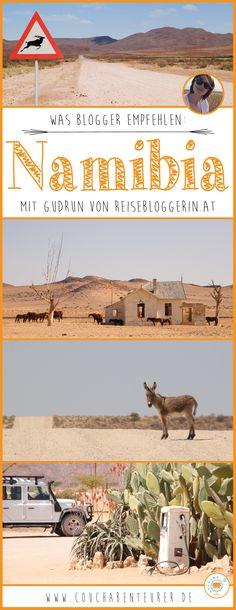 """Bevor ich auf Reisen gehe informiere ich mich gerne bei Locals, Freunden oder auch schon mal bei anderen Bloggern und frage sie nach ihren Erfahrungen. Deshalb habe ich mich bei Gudrun von """"Reisebloggerin.at"""" mal nach ihrem Namibia Erlebnis erkundigt. Hier ihre Antworten:"""