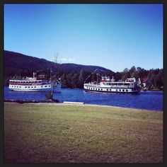 Old river boats, Lunde, Telemark in Norway
