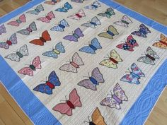 30's butterfly quilt